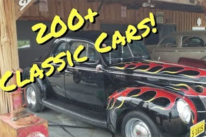 Touring A Goldmine Of Classic Cars And Memorabilia